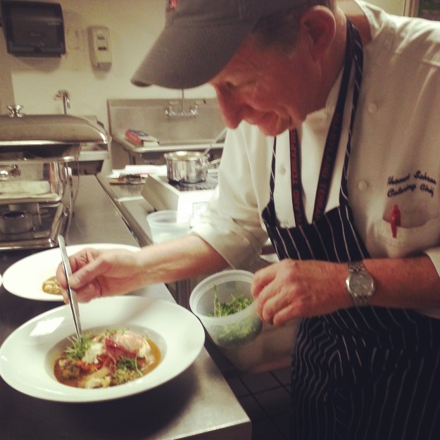 Chef Schraa wins Regional NACUFS Culinary Competition