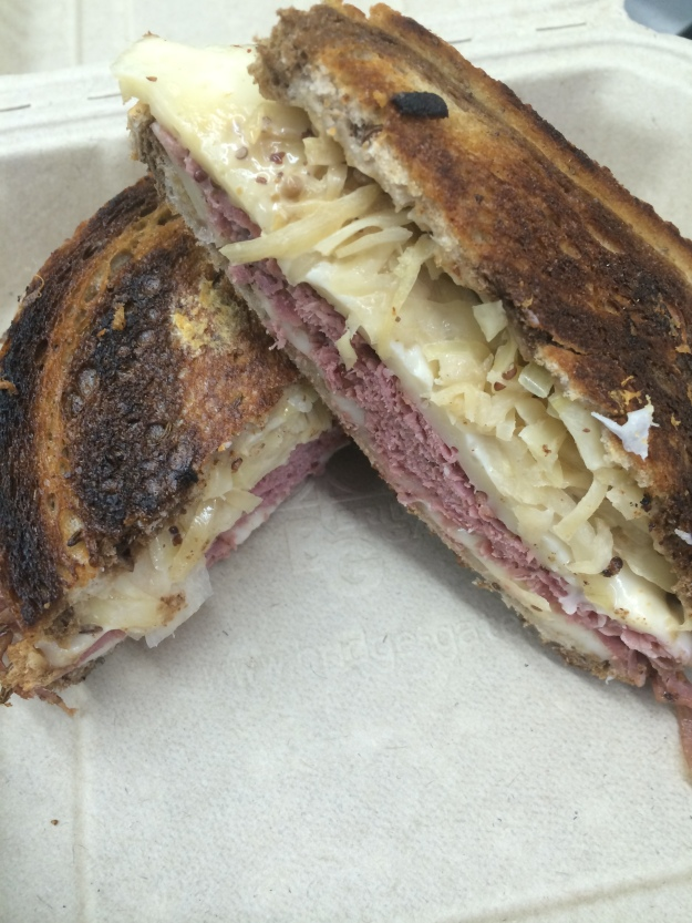 Our Pastrami sandwich